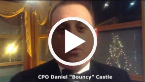 Masquerade mask   CPO Daniel Castle Testimonial