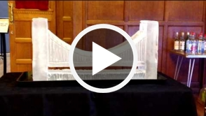 Brooklyn Bridge Vodka Luge