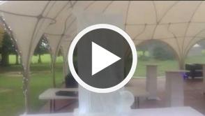 Cricket Bat, Ball and Stumps Vodka Luge