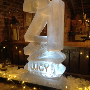 21  Vodka Luge from Passion for Ice