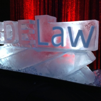 BDELaw Ice Sculpture from Passion for Ice