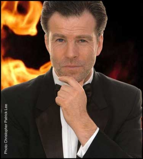 Pierce Brosnam Lookalike from Passion for Ice