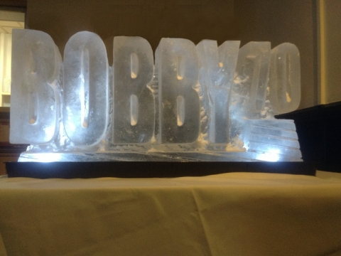 Bobby 70 Vodka Luge from Passion for Ice