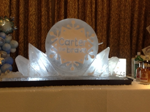 Carter The Brave Vodka Luge from Passion for Ice
