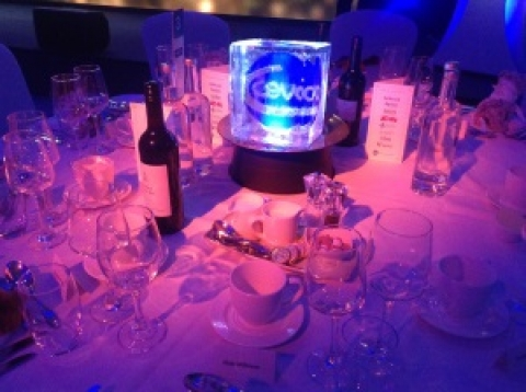 CEVA Awards Night 2019 Ice Centre Table Pieces from Passion for Ice