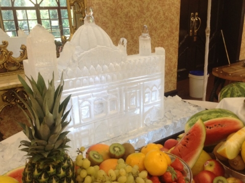 Golden Temple of Amritsar Ice Sculpture from Passion for Ice