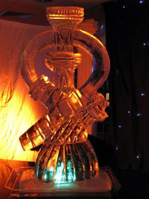 Water Pipe Vodka Luge from Passion for Ice