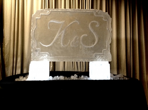 Initials - K&S Vodka Luge from Passion for Ice