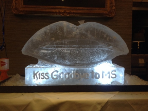 Kiss Goodbye to MS Vodka Luge from Passion for Ice