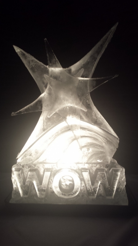 The WOW Awards Night Vodka Luge from Passion for Ice