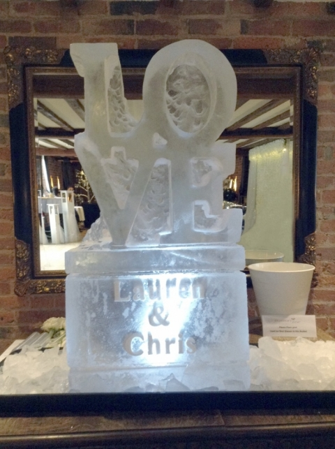 Love Vodka Luge from Passion for Ice