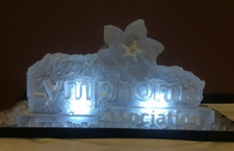 Lymphoma Association Vodka Luge from Passion for Ice