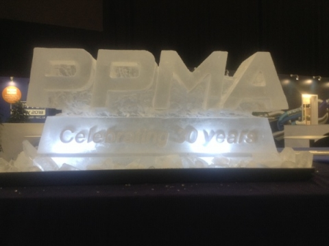 PPMA Vodka Luge at the NEC Birmingham from Passion for Ice