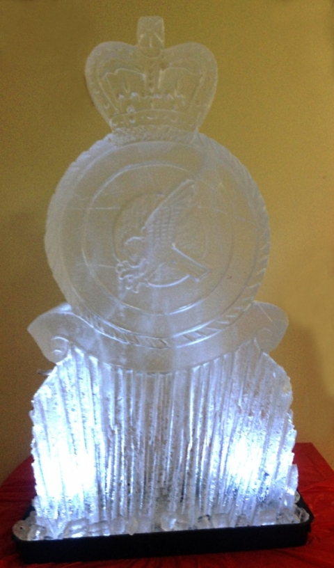 RAF Marham TIW Vodka Luge from Passion for Ice