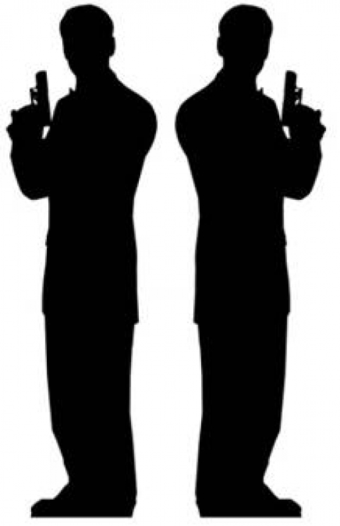Secret Agent Male Silhouette - Double from Passion for Ice