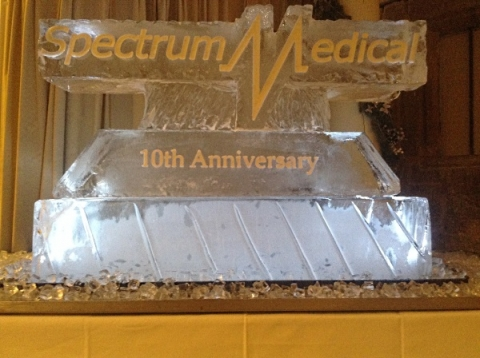 Spectrum Vodka Luge from Passion for Ice
