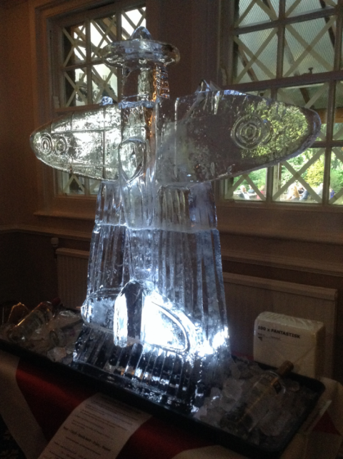 Spitfire Vertical 2 Vodka Luge from Passion for Ice