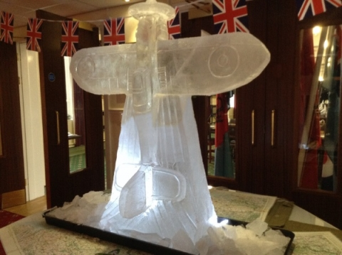 Spitfire Vodka Luge from Passion for Ice