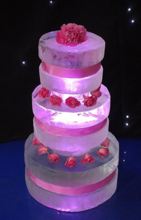 Three Tier Cake Passion For Ice Ice Sculpture And Ice Luge