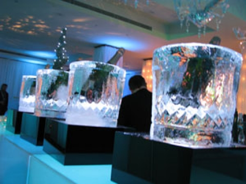 Large wine coolers from Passion for Ice